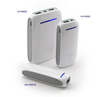 mobile battery charger , from 2000 mHh to 10400 mAh power bank