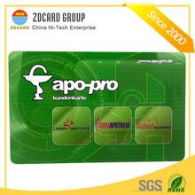 wholesale cheap price pvc laser card