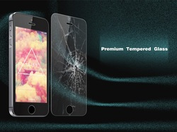 top quality Extra strong glue toughened glass protective film for iphone 6, raw materials from Japan