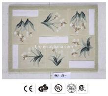 outdoor quality exhibition fashion silicon baking mat