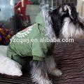 novo design venda quente baratos alta qualidade da marca de roupas para animais de estimação do cão vestido de padrões