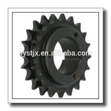 H50Q24 Roller Chain Sprocket, Single Strand, Split Taper, Bushed, Hardened Steel, 50 Pitch, 24 Teeth