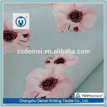 cotton fabric elastic 2015 china popular sales promotion knit jacquard