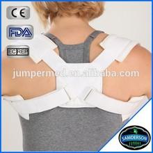 FDA certified deluxe four way figure 8 clavicle brace & posture corrector