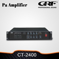 GRF 4 Mic Output 6 Zones 240W Pa Power Amplifier