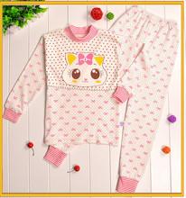 2015 Fashion Cartoon Animal Desigh ,Kids Animal Pajamas,Children 2pc Long Sleeve Sleepwear