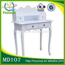 Antique dressing table /paint wood bedroom furniture/ikea vanity table