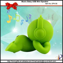 Cute baby mini speaker boys gift items