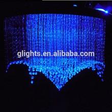 Blue pendant fiber optic lighting Fast delivery