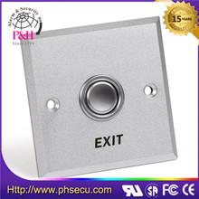 Exit emergency push button