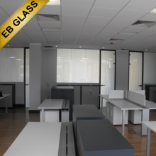 switchable privacy film ,Opaque treatment pdlc material smart film EB GLASS BRAND