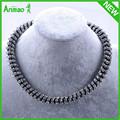 [ Hot ] nuevo de la llegada del invierno collar de cadena tejida collar de Jewellry cristal de alta calidad