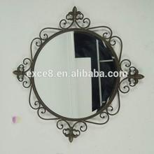 Home decor art&craft wrought iron mirror frames