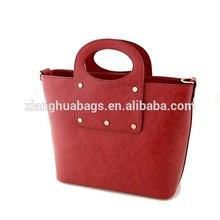 Latest Fashionable Woman Lady Pu leather Tote Bag Handbag shoulder bags Retro Vintage