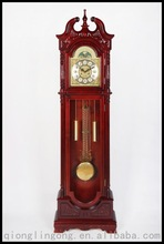 Shandong Tianzhixi Antique Granfather Clock Floor Clock Wood Clock