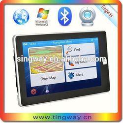 "7"""" Car GPS Navigation + Wireless Reverse Camera Bluetooth AV-IN New Map 4GB POI"""