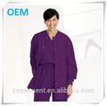 Hospital uniforme de matorral, doctor uniforme del hospital, médico quirúrgica del hospital chaqueta