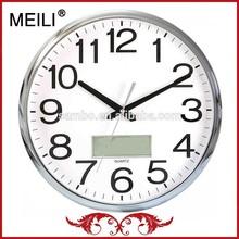 Analog Quartz Day Date Time Clocks