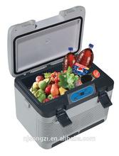 Dc 12v single zone mini freezer box for car with solar power