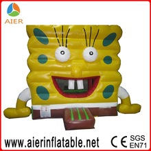 inflatable bouncer cartoon,spongebob inflatable bouncer