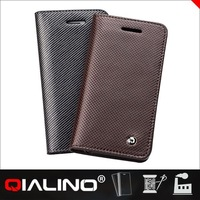 QIALINO Custom Leather Protective Cases For Iphone5C
