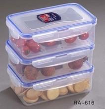 Plastic food grade container set