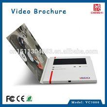5inch2015 Lcd led create video brochures uk