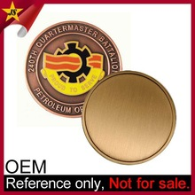 Wholesale Cheap Custom Made Old Blank Brass Coins