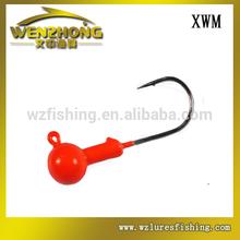 wz xwm venta al por mayor de cabeza redonda tipo de pesca pintado de cabeza de la plantilla