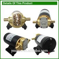 12v dc 14L/min electric oil transfer gear pump