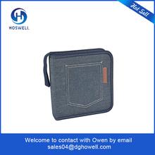 New 80 Capacity Portable Leather CD case Music Album