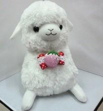 Lovely plush alpaca toy, plush alpaca stuffed animal for kids