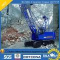 China , el más Popular de la marca XCMG maquinaria de construcción Lifing máquina 55ton grúa sobre orugas de grúa hidráulica QUY55