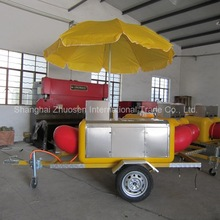 Popular Using Mobile Vehicle Kiosk Cart for Drink and Juice & Sandwich & Hot Dog ZS-HT220 A