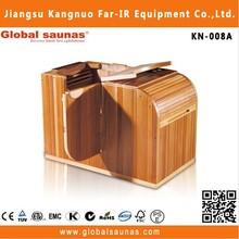 spa wellness products mobile half body portable far infrared sauna health care KN-008A