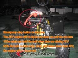mini quad atv 50cc/ racing atv