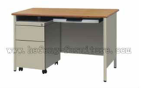 Low Price Mobile Computer Desk with Wheels