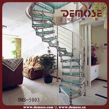 High quality Tempered glass/ glass stairs/ glass partition