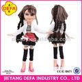 defa muñeca china fabricante de vinilo suave muñeca muñecas africano americano