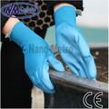 Nmsafety pu1350 novo design preço barato 13g branco pu luvas de trabalho palma revestida, luvas de trabalho, suprimentos para segurança no trabalho