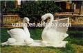 Sculpture Jardin extérieur de fibre de verre Sculpture d'Art moderne- Cygne