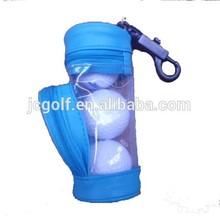 Popular giveaway mini golf ball and tee bag