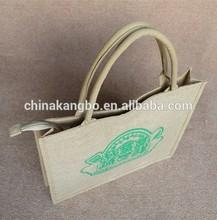 Custom plain jute bag