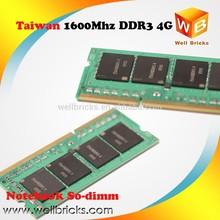 Best quality Memory module laptop NB Cheap ram memory ddr3 4gb 1600Mhz