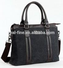 New Arrival shoulder bags canvas handbag 14-inch laptop fashion men's travel bags business briefcase messenger bags