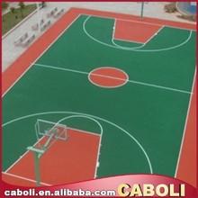 Caboli epoxy paint rubber flooring