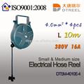 1.5mm2 3 stück l 10m 220v6a led-licht Art dts-1510e-18wl kleine elektrische schlauchtrommel kabeltrommel steckdose