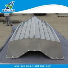 aluminum boat construction