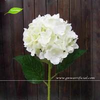 GNW FLH06-1 Plastic Artificial Hydrangea Flower 80 cm Long Stem for Wedding Decoration