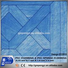 PVC VINYL FLOORING INDOOR THICKNES 0.65mm*WIDTH1.83M''*30Y WOODEN ROLL